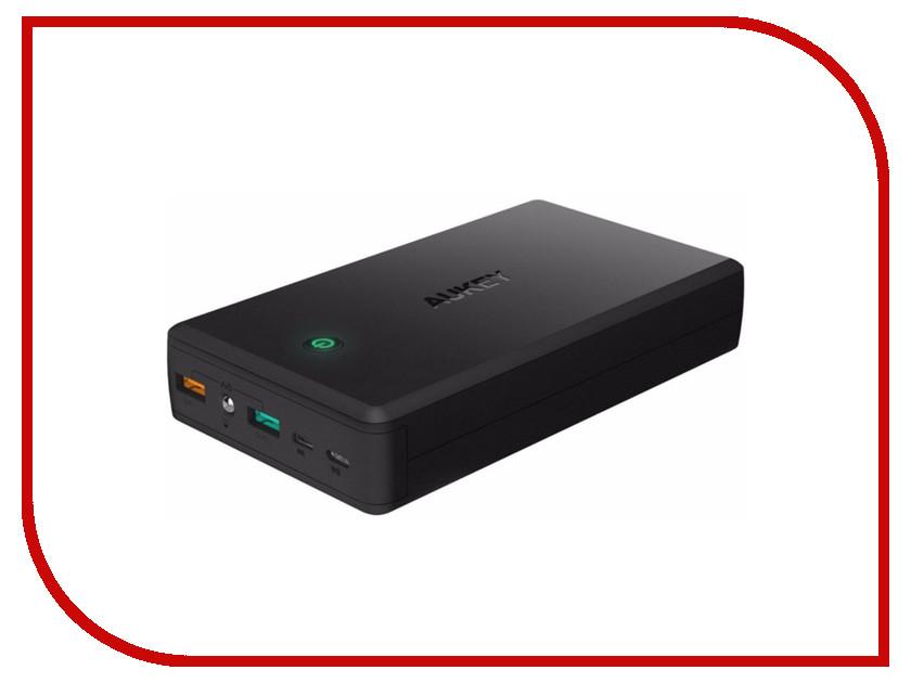 Аккумулятор Aukey 30000mAh Quick Charge 3.0 PB-T11 Black