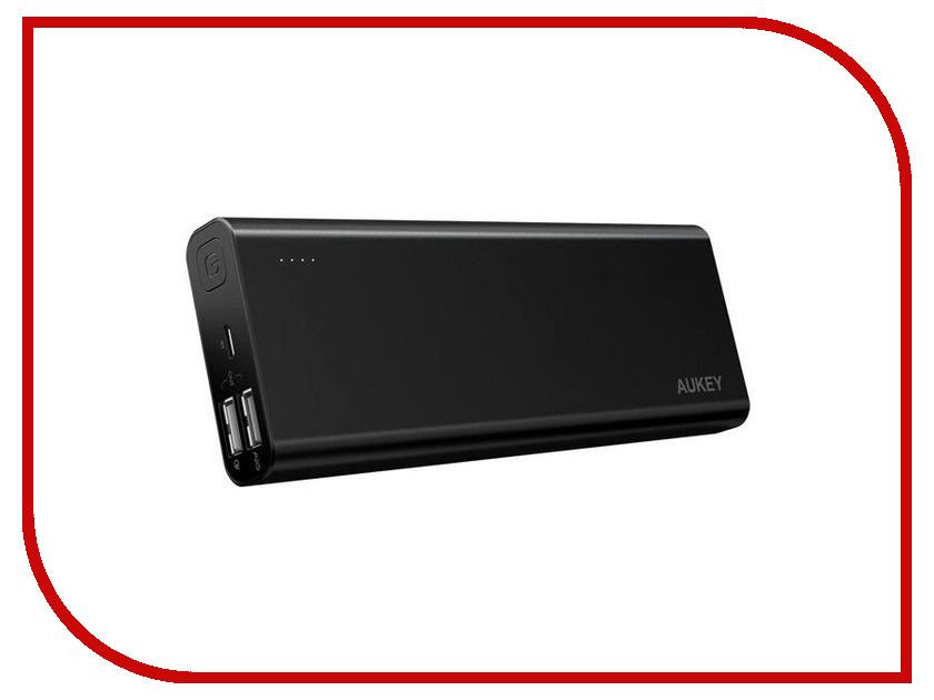 Аккумулятор Aukey 20100mAh Quick Charge 3.0 PB-AT20 Black аккумулятор aukey 30000mah quick charge 3 0 pb t11 black