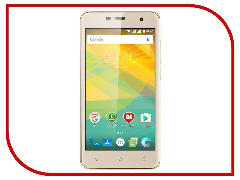 Сотовый телефон Prestigio MultiPhone Muze G3 3511 PSP3511DUO DUOS Gold стоимость