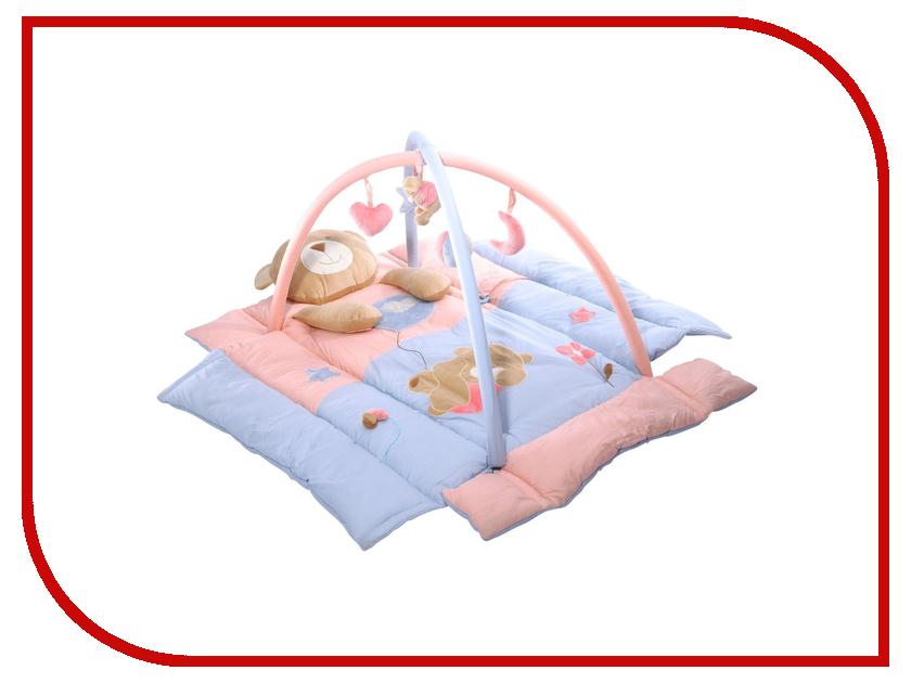 Развивающий коврик Baby Mix Мишка TK/3343CN развивающий коврик baby mix мишка на волнах 3261ce 62104