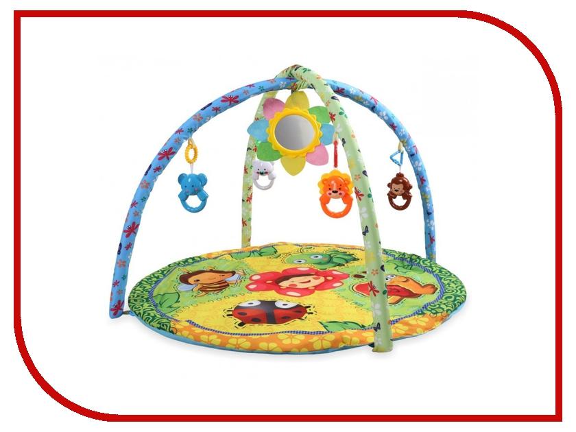 Развивающий коврик Baby Mix Лесная полянка 191605004 развивающий коврик baby mix мишка на волнах 3261ce 62104