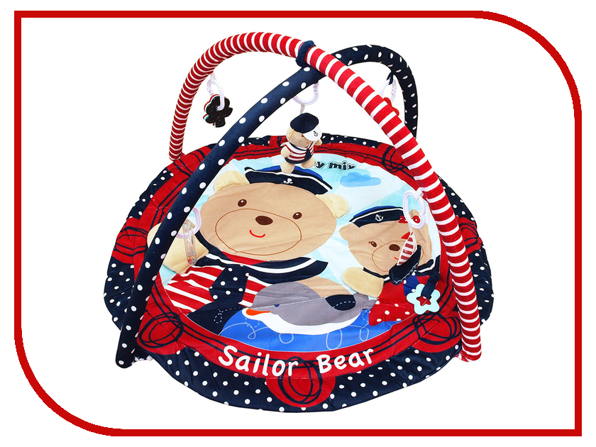 Развивающий коврик Baby Mix Sailor Bear 3406C-62104 блендер мулинекс mix go lm1aod10