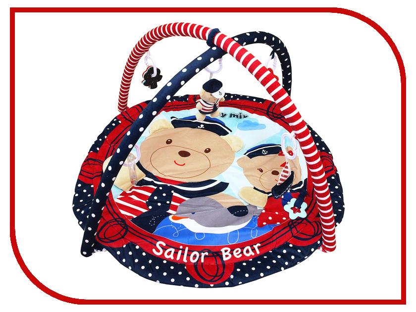 Развивающий коврик Baby Mix Sailor Bear 3406C-62104 развивающий коврик baby mix мишка на волнах 3261ce 62104