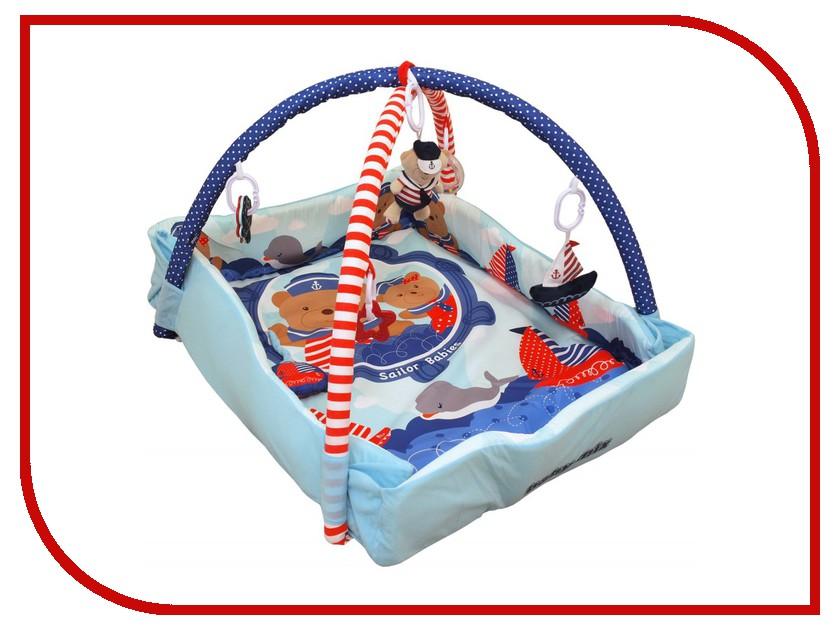 Развивающий коврик Baby Mix Мишка на волнах 3261CE-62104 блендер мулинекс mix go lm1aod10