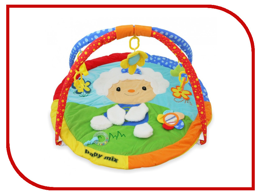 Развивающий коврик Baby Mix Овечка 3248С/21 блендер мулинекс mix go lm1aod10