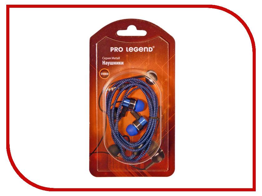Наушники Pro Legend Metall PL5005 Blue