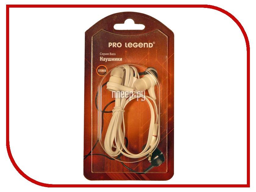 Гарнитура Pro Legend Bass PL5003 White