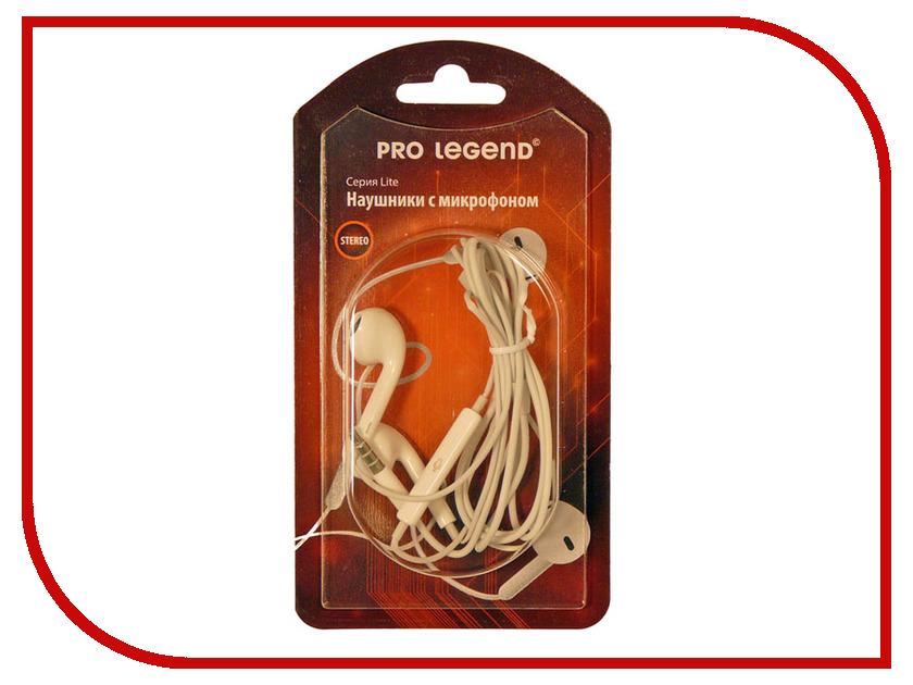 Гарнитура Pro Legend PL5024 White