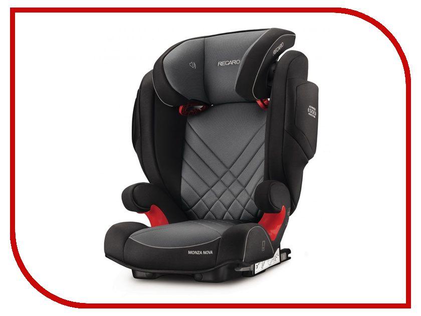 Автокресло Recaro Monza Nova 2 Seatfix Carbon Black 6151.21502.66 автокресло recaro recaro автокресло monza nova 2 seatfix saphir синее