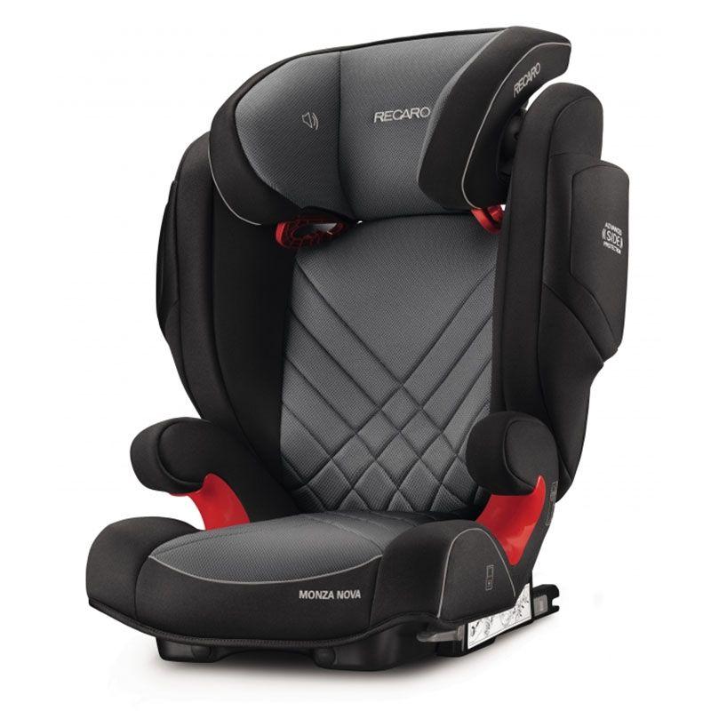 Автокресло Recaro Monza Nova 2 Seatfix Carbon Black 6151.21502.66 автокресло recaro optiafix dakar sand