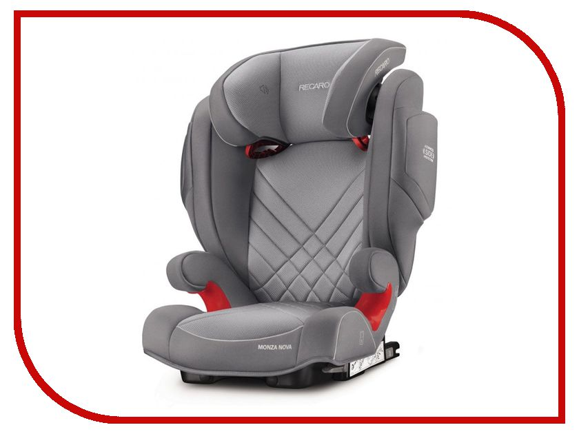 Автокресло Recaro Monza Nova 2 Seatfix Alluminum Grey 6151.21503.66 автокресло recaro monza nova is seatfix 9 36 кг saphir