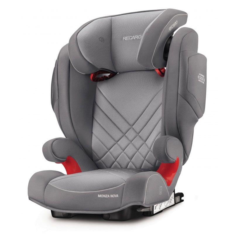 Автокресло Recaro Monza Nova 2 Seatfix Alluminum Grey 6151.21503.66