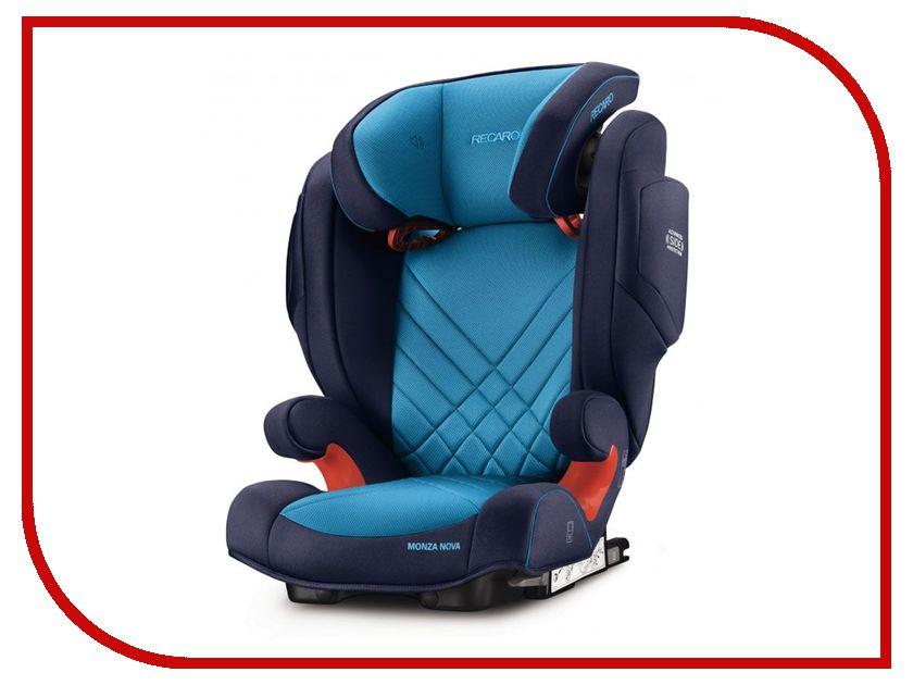 Автокресло Recaro Monza Nova 2 Seatfix Xenon Blue 6151.21504.66 автокресло recaro monza nova 2 seatfix 15 36 кг perfomance black