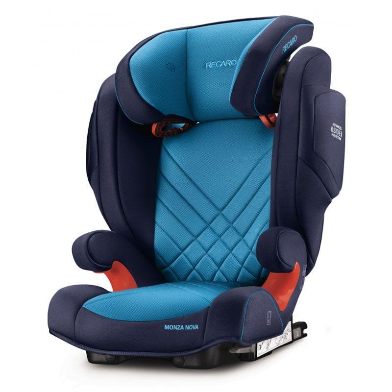 Автокресло Recaro Monza Nova 2 Seatfix Xenon Blue 6151.21504.66 цена