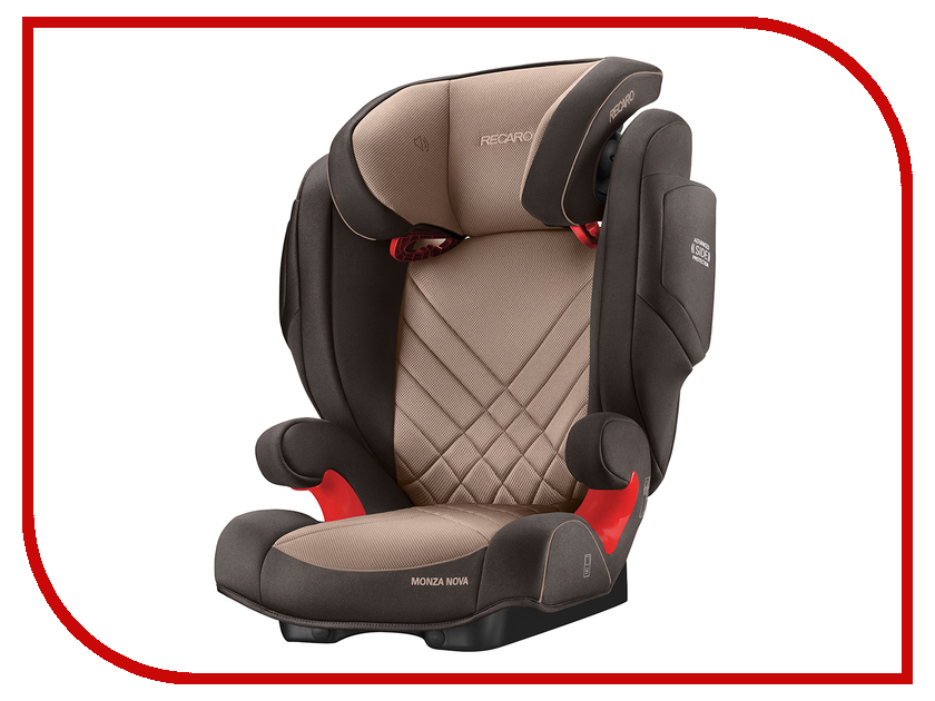 Автокресло Recaro Monza Nova 2 Seatfix Dakar Send 6151.21506.66 автокресло recaro monza nova is seatfix 9 36 кг saphir