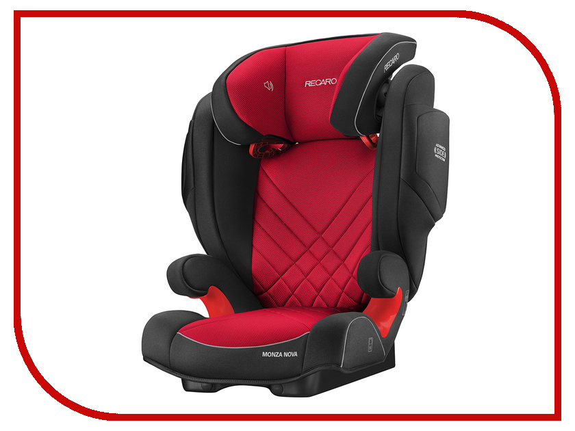 Автокресло Recaro Monza Nova 2 Seatfix Racing Red 6151.21509.66 ложка и вилка happy baby fork spoon 15018