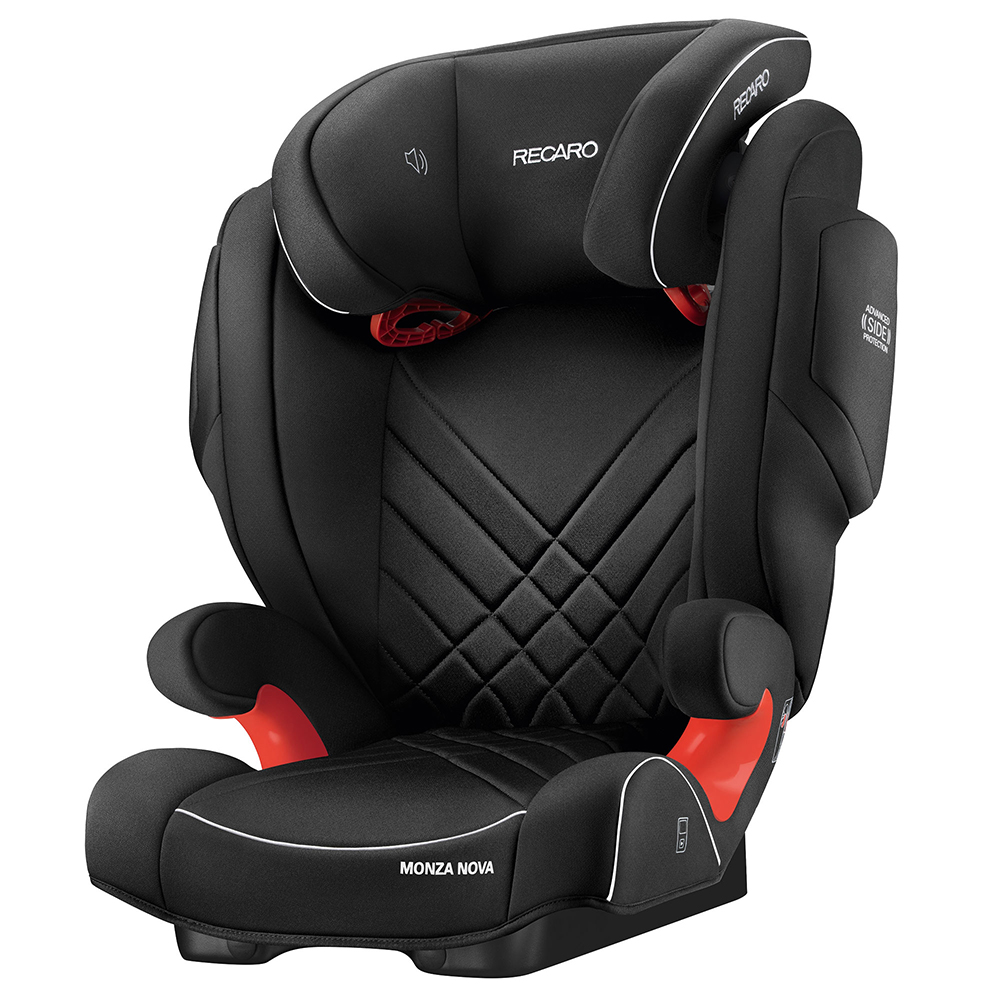Автокресло Recaro Monza Nova 2 Seatfix Perfomance Black 6151.21534.66 фото