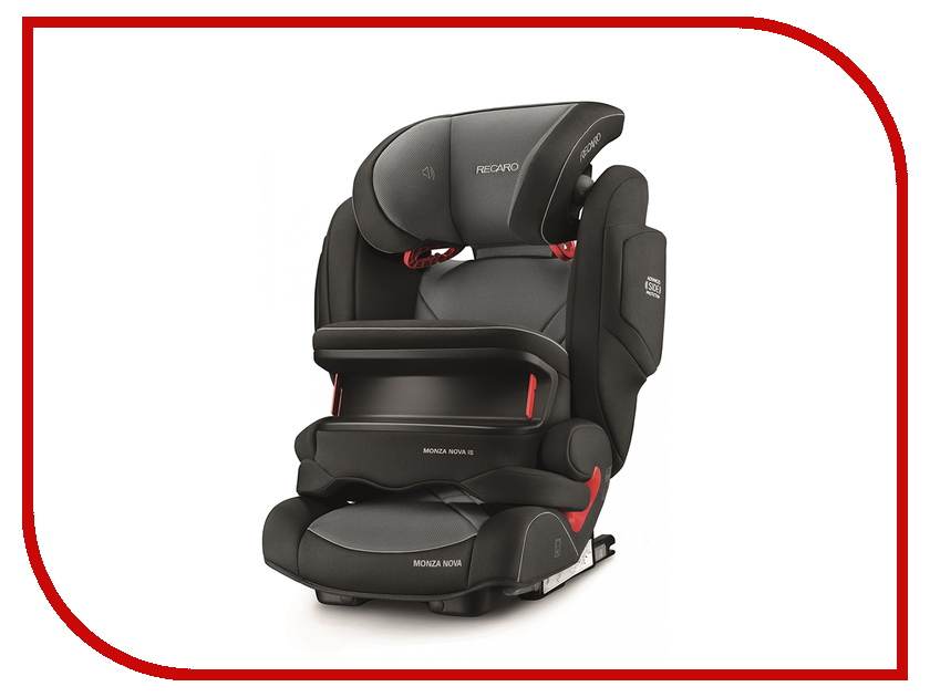Автокресло Recaro Monza Nova is Seatfix Carbon Black 6148.21502.66 кастрюля calve cl 1159