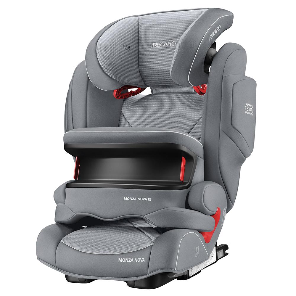 цена на Автокресло Recaro Monza Nova is Seatfix Alluminum Grey 6148.21503.66