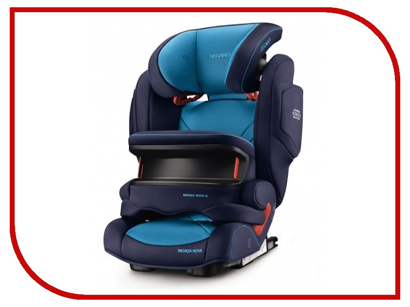 Автокресло Recaro Monza Nova is Seatfix Xenon Blue 6148.21504.66 автокресло recaro monza nova 2 seatfix 15 36 кг perfomance black