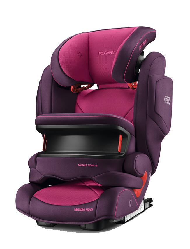 Автокресло Recaro Monza Nova is Seatfix Power Berry 6148.21508.66