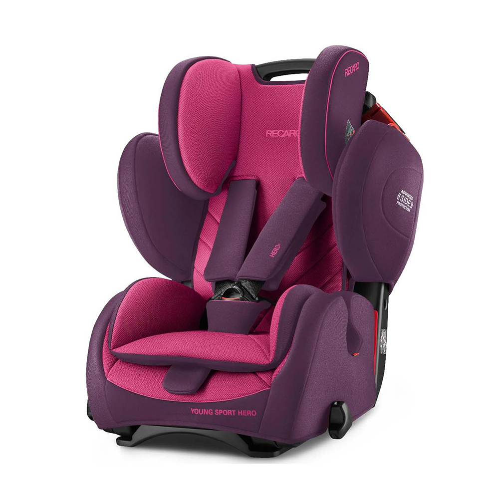 Автокресло Recaro Young Sport Hero Power Berry 6203.21508.66