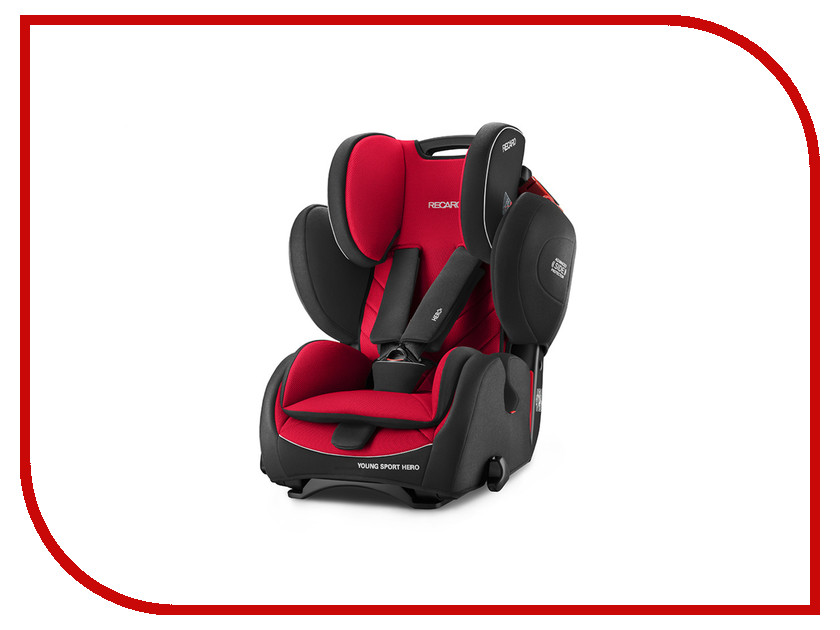 Автокресло группа 1/2/3 (9-36 кг) Recaro Young Sport Hero Racing Red recaro young sport hero