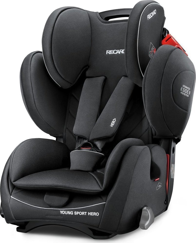 Автокресло группа 1/2/3 (9-36 кг) Recaro Young Sport Hero Perfomance Black