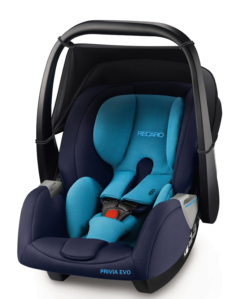Автокресло Recaro Privia Evo Xenon Blue 5517.21504.66 recaro автокресло recaro privia 0 13 кг black