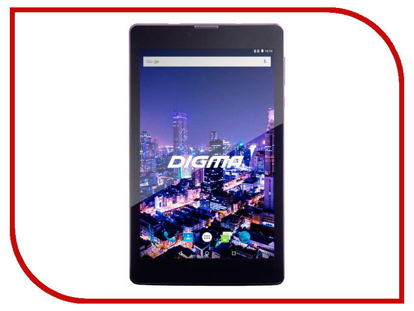 Планшет Digma CITI 7507 4G (Spreadtrum SC9832 1.3 GHz / 2048Mb / 32Gb / Wi-Fi / 4G / Bluetooth / GPS / Cam / 7.0 / 1280x800 / Android)