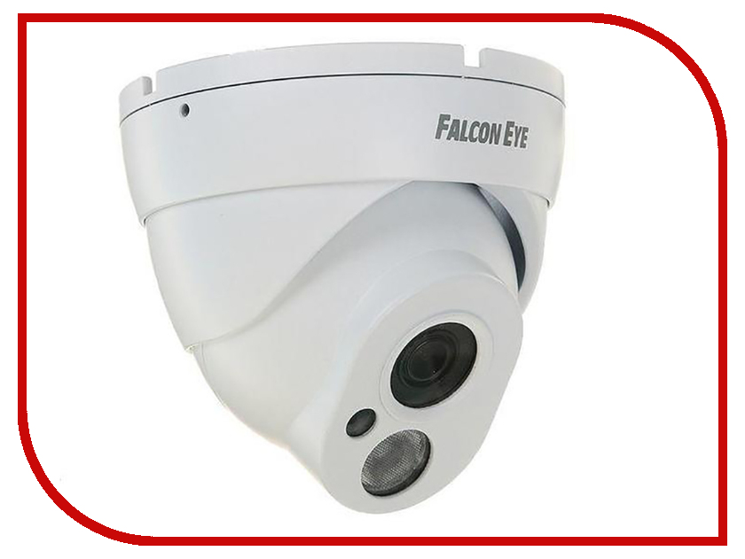 IP камера Falcon Eye FE-IPC-DL200P Eco аналоговая камера falcon eye fe id80c 10m