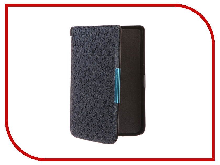 Аксессуар Чехол for PocketBook 614/615/624/625/626 TehnoRim Dark-Blue TR-PB626-SL02DBLU