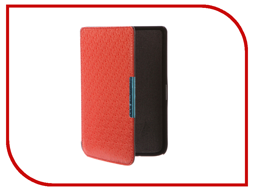 Аксессуар Чехол for PocketBook 614/615/624/625/626 TehnoRim Slim Red TR-PB626-SL02RD