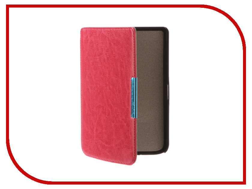 Аксессуар Чехол for PocketBook 614/615/624/625/626 TehnoRim Slim Crimson TR-PB626-SL01PN