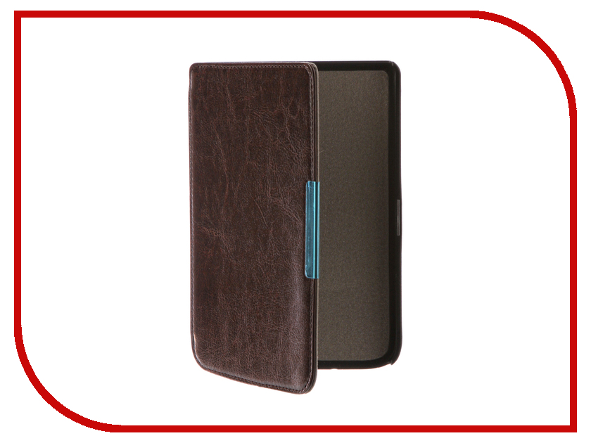 Аксессуар Чехол for PocketBook 614/615/624/625/626 TehnoRim Slim Dark Brown TR-PB626-SL01DBR