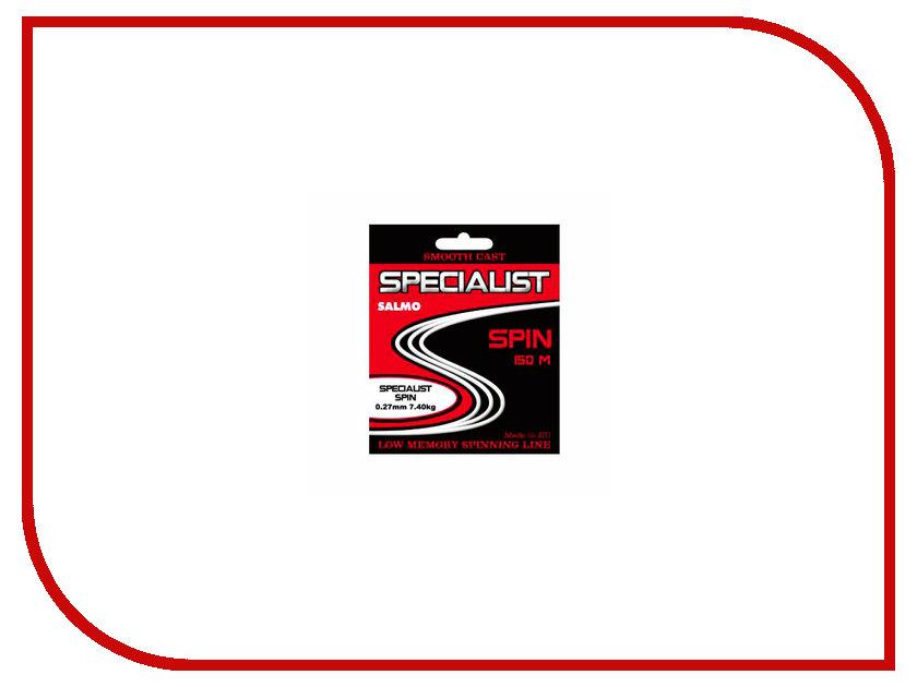 Леска Salmo Specialist Spin 150/027 4605-027 marlies moller specialist сухой шампунь придающий объем с шелком 4г