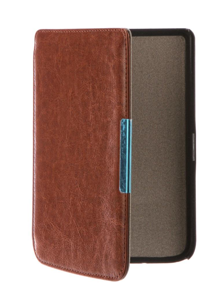 Аксессуар Чехол TehnoRim для PocketBook 614/615/624/625/626 Slim Brown TR-PB626-SL01BR