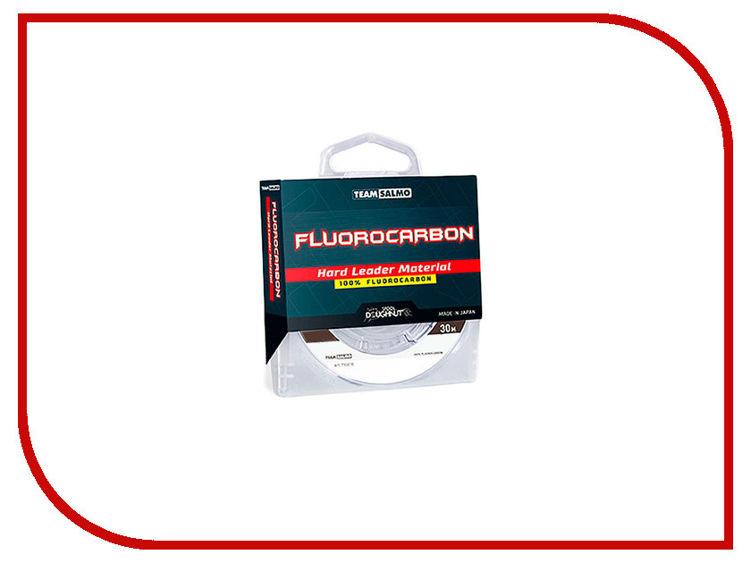 Леска Salmo Team Fluorocarbon Hard 030/023 TS5018-023 спиннинг salmo team tioga 7 90 ul