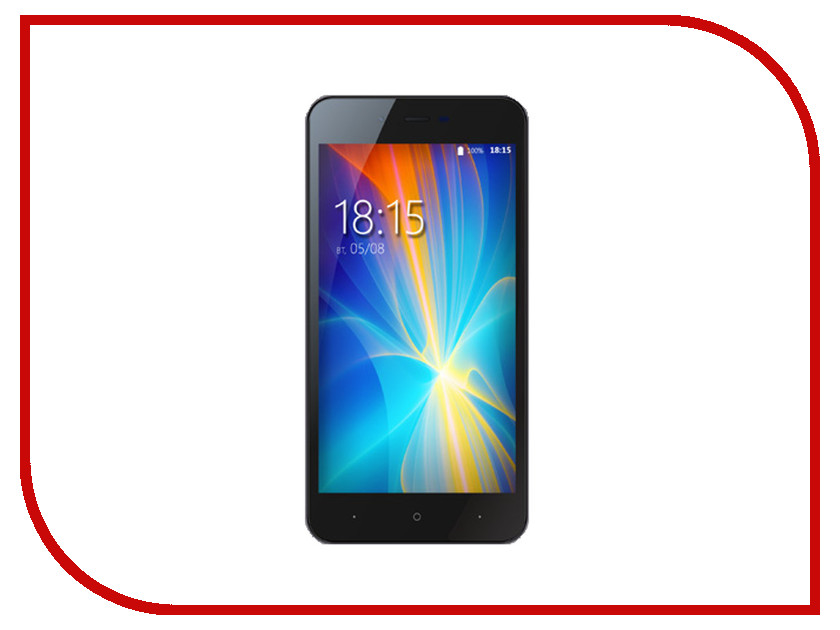 Сотовый телефон BQ 4072 Strike Mini Dark Grey смартфон bq mobile bq 4072 strike mini red