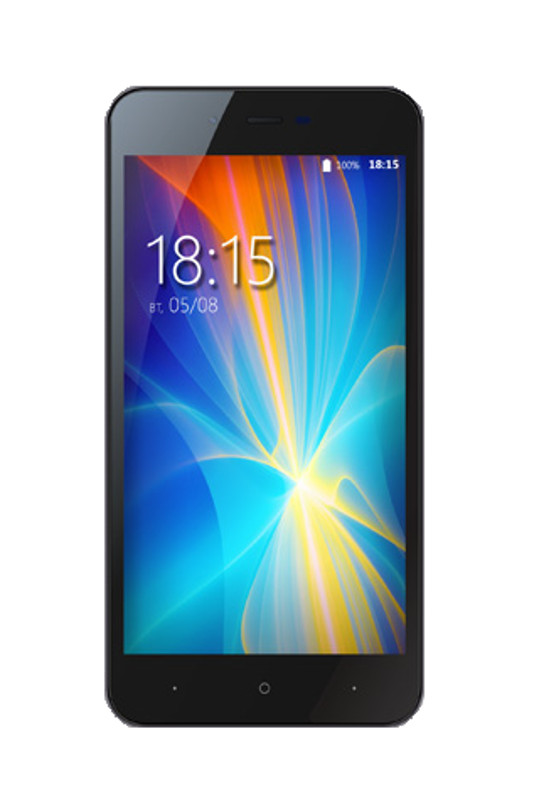Сотовый телефон BQ 4072 Strike Mini Dark Grey сотовый телефон archos 55 cobalt plus dark grey