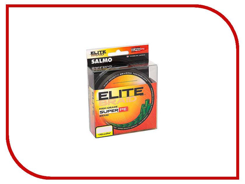 Леска Salmo Elite Braid Yellow 091/015 4819-015 sport elite se 2450