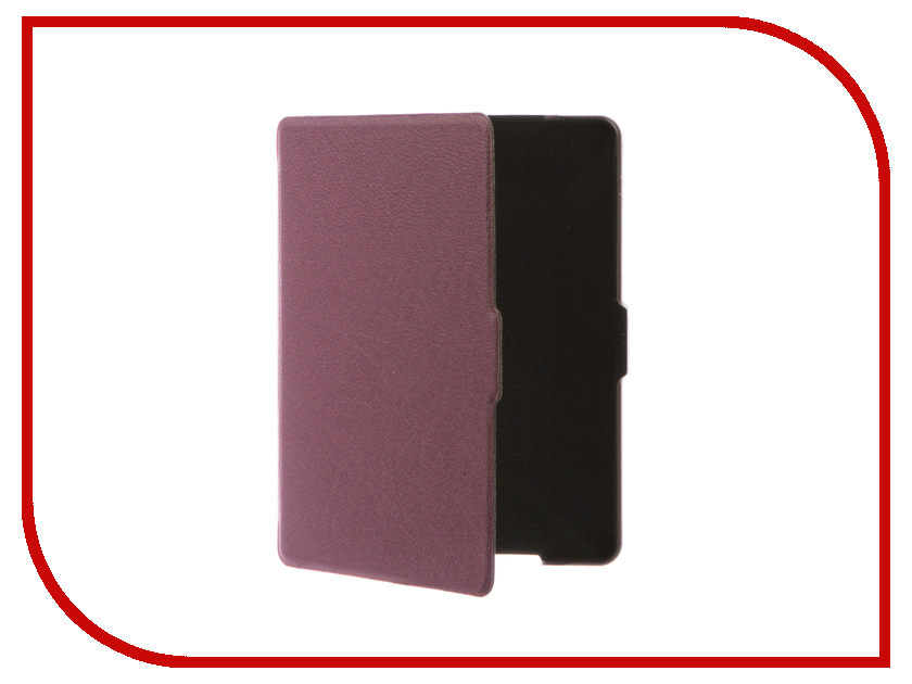 Аксессуар Чехол for Reader Book 2 TehnoRim Slim Purple TR-RB2-SL01PR аксессуар чехол for pocketbook 626 tehnorim origami black tr pb626 or01bl