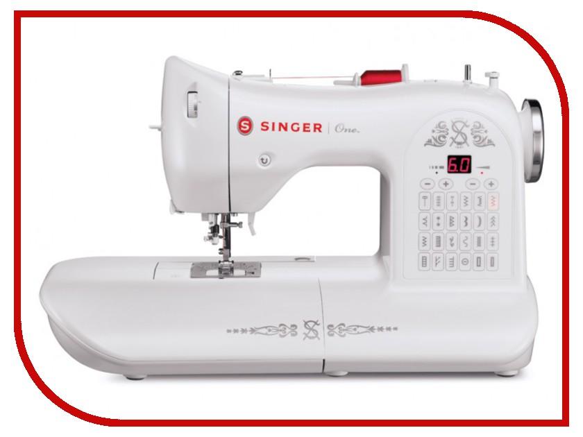 Швейная машинка Singer One White микро швейная машинка
