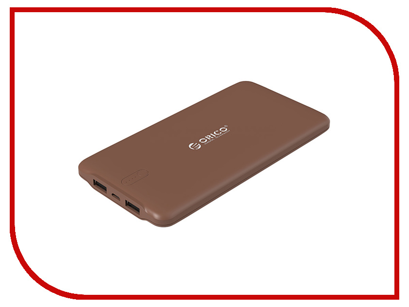 Аккумулятор Orico LD100-CF 10000mAh Brown