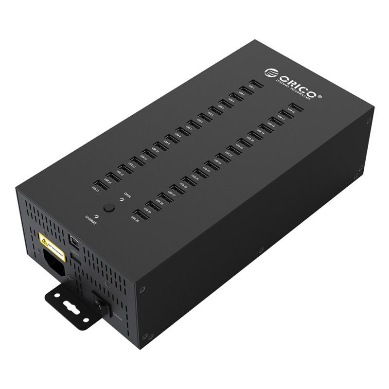 Хаб USB Orico IH30P-U2-BK 30-Ports