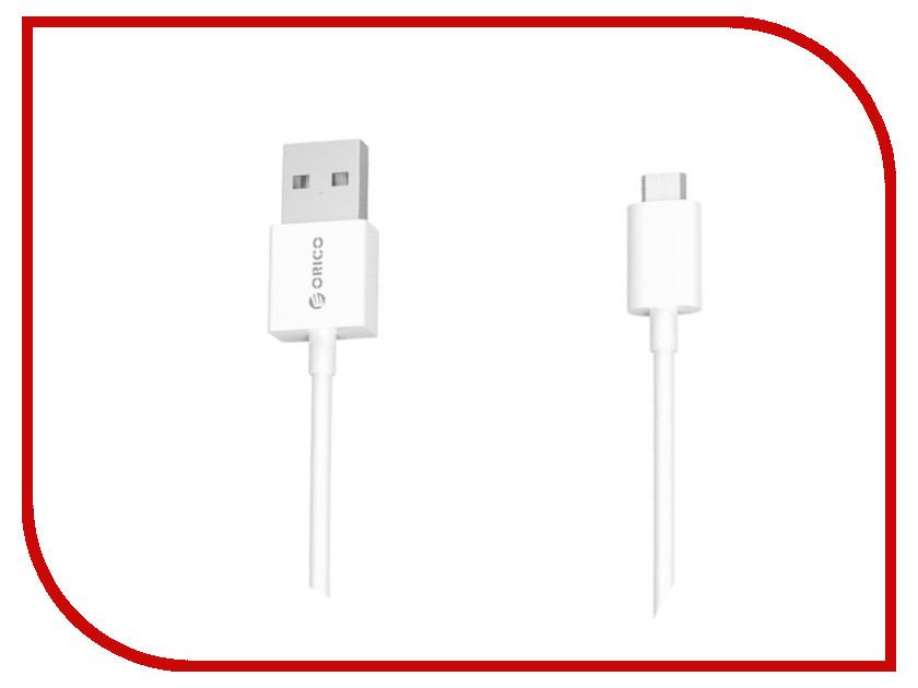 Аксессуар Orico USB - MicroUSB 1m FDC-10-WH
