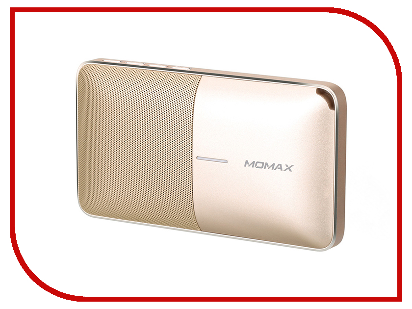 Колонка Momax Zonic Speaker + Powerbank 6000mAh BST3 Gold stylish vr box momax