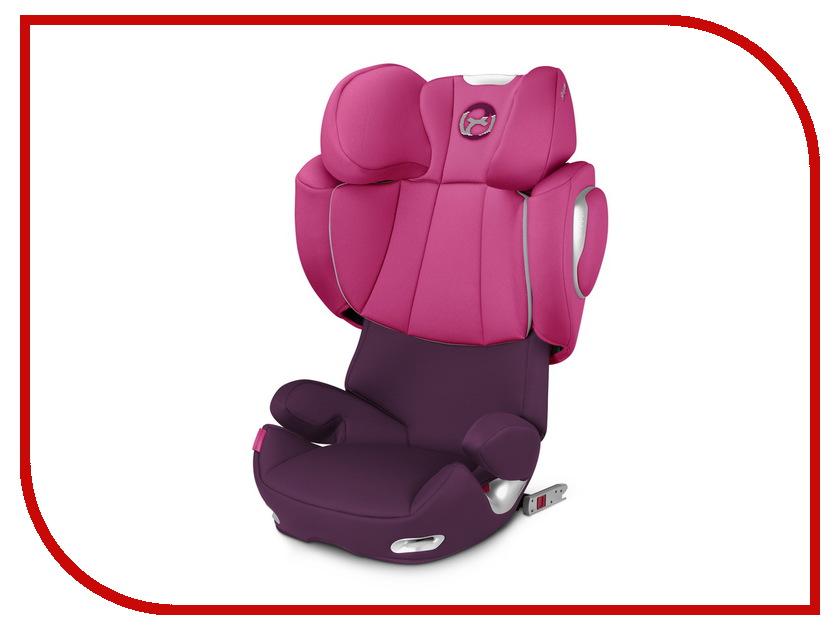 Автокресло 2/3 (15-36 кг) Cybex Solution Q3-Fix Pink cybex solution q2 fix