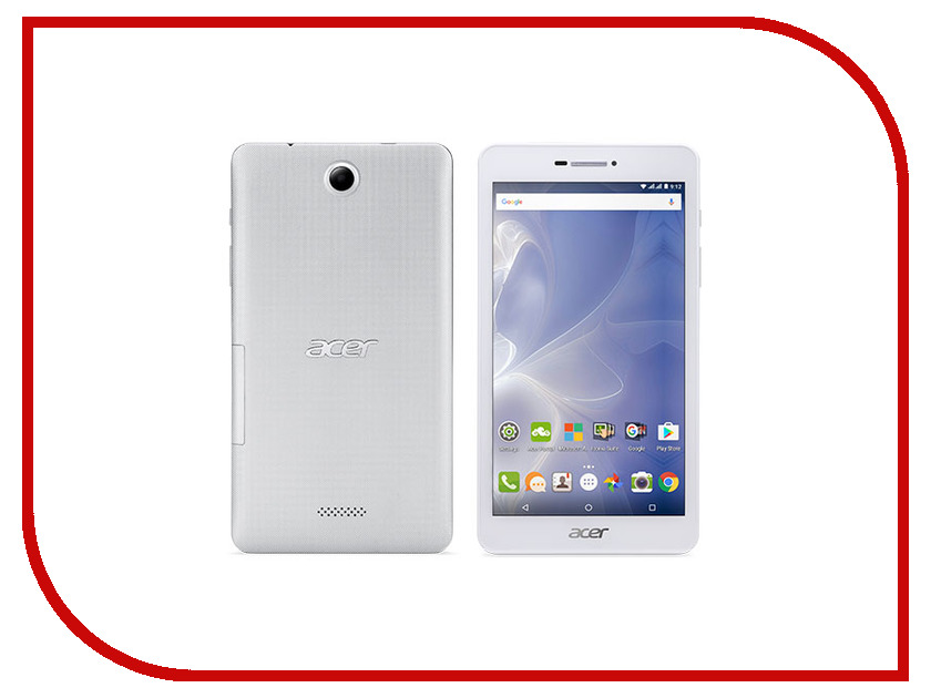 Zakazat.ru: Планшет Acer Iconia Talk B1-733 NT.LDJEE.002 Silver (MediaTek MT8321 1.3 GHz/1024Mb/16Gb/Wi-Fi/Bluetooth/Cam/7.0//1280x800/Android)
