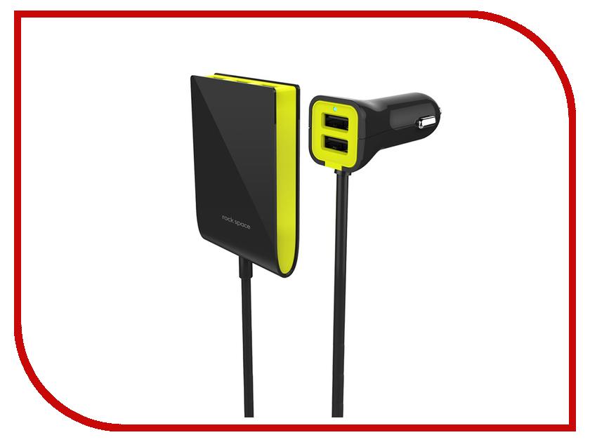 Зарядное устройство ROCK Car Charger 5xUSB 6A RCC0113 Black